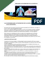 Principales Enfermedades Autoinmunes en Los Huesos