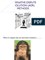 ADR methods