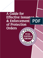 Protection Order Best Practices