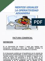 Documentos Usuales Para La Operatividad Aduanera