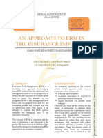 An Approach to ERM in the Insurance Industry_APRIA 2002_Rama Warrier&Preeti