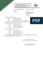 Surat Permohonan Perubahan Specimen