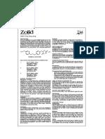 Zolid Tab Leaflet Pakistan