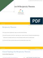 Reciprocity Theorem