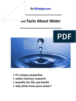 All Water Facts and Unique Properties