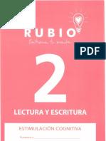 Rubio - Entrena Tu Mente - Lectura y Escritura