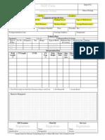 091118 Ultrasonic Testing Report Format Based on IACS