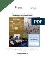 Manual de conceptos y herramientas de metodología de Aprendizaje de Adultos