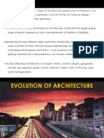 Factors Affecting Architecture