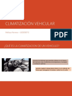 Climatización Vehicular
