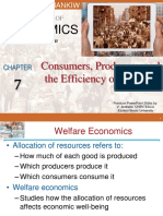 Consumers, Producers, & Market Efficiency