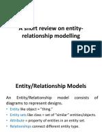 Metu RDBMS entity relationships