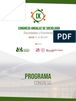Programa congreso FES XIII