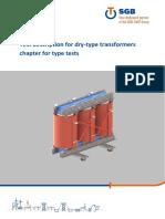 dry Type transformer testing