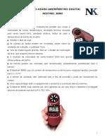 Manual Do Kestrel 3000