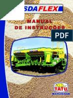 Manual Semeadora Tatu SDA Flex