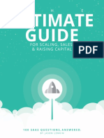 The Ultimate Guide for Scaling Sales and Raising Capital 100 SaaS Questions Answered V1