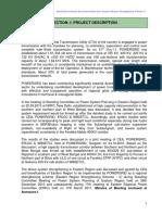 Initial Environment Assessment Report for Eastern Region Strengthening Scheme-V