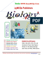 Biology Solved 1500 MCQs PDF Book With Answers Download.pdf