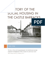 A History of the Social Housing in the Castle Barracks Draft