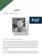 A Pakistani Hawking_ - Newspaper - DAWN.com