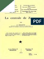 Tec.sc.(NS) T.I,3 GEULETTE, P. La Centrale de Zongo 1955