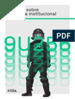 Informe Irídia sobre violència institucional l'any 2018
