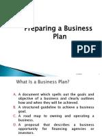 Business Plan Pres1
