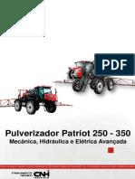 Pulverizador Patriot 250-350 - Mecânica e Hidráulica Eletrica