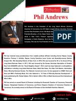 Phil Andrews Corporate Press Kit
