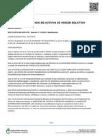 Boletín Oficial RePET