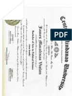 AB Political Science Diploma