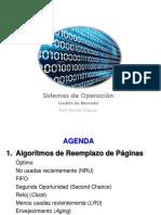 Clase 14 - Memoria - Algoritmos Reemplazo de Paginas.pdf