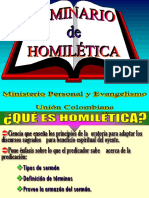 SEMINARIO HOMILETICA