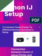 Canon IJ Setup