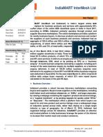 636969819303861317 Indiamart Report IPO Note