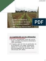 reglamento en vitivinicultura en uruguay