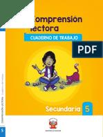 Comprension lectora cuaderno de trabajo Secundaria 5.pdf
