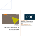 Manual- Creacion de SP en SAP TA01