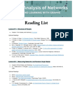CSS224w Reading List