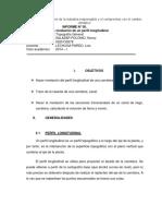 practica n°5 nivelacion de un perfil longitudinal