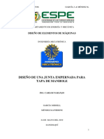 Diseño de Una Junta Unión de Ménsula a Una Columna García Méndez