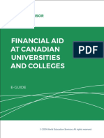 WES Guide for Financial Aid in Canada