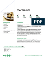 Profiteroles - Bimby