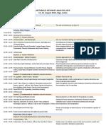 MPA 2019 schedule