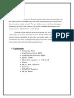 Electronics Project Proposal