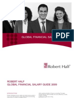 2009 Global Financial Salary Guide