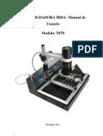 Soldadora T-870 Manual de Operacion