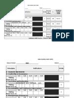 SBM Practice Scoring Sheet