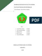 Cover Sistem Informasi Di Badan Pusat Statistik